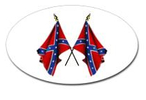 confederate flag decals